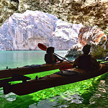 Kayak Through Emerald Cave