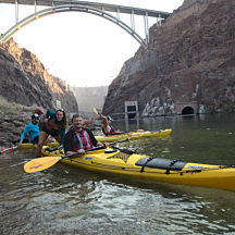 Hoover Dam Kayaking Tour
