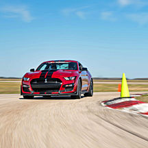 Race a Ford Mustang Shelby GT500 at New Hampshire Motor Speedway