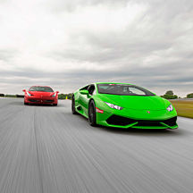Italian Supercar Experience at Charlotte Motor Speedway