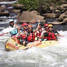 Middle Ocoee Rafting Trip