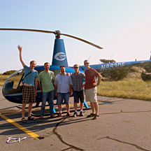 Helicopter Tour in Outer Banks NC