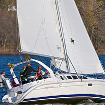 Chartered Sail on Lake Pepin