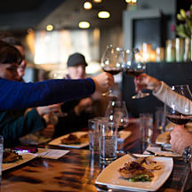 Portland Food Tour Toasting