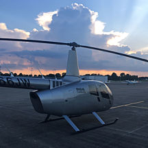 Sunset Helicopter Tour Indy