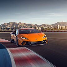Race a Lamborghini at Las Vegas Motor Speedway