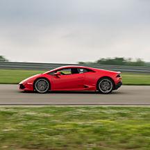 Race a Lamborghini at Pacific Raceways