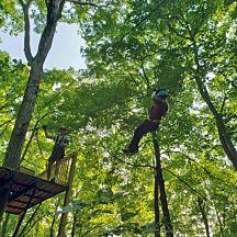 Zipline in Southern Indiana