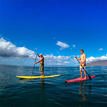 Paddleboard Lesson in Hawaii