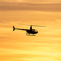 Sunset Helicopter Tour near Detroit