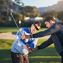 1 hour private golf lesson with a PGA professional