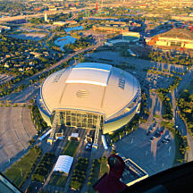Stadium Helicopter Tour in Dallas
