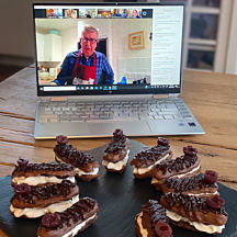 Online Cooking Lesson With A Chef