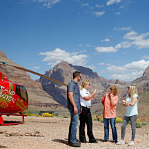 West Rim Helicopter Tour With Landing from Peach Springs, AZ