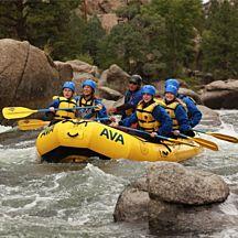 Whitewater Rafting Half Day Clear Creek Near Denver