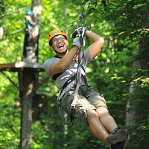 Zipline Adventure near Boston