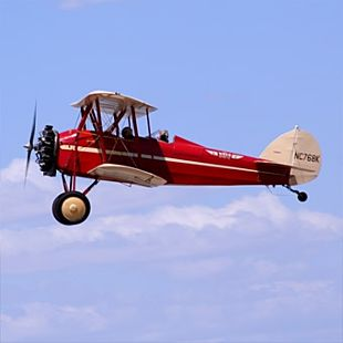 Scenic Biplane Ride for 2 in San Diego