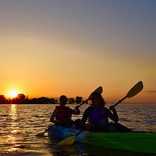 Wisconsin Sunset Kayak