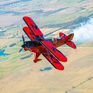 Biplane Thrill Ride over Dallas