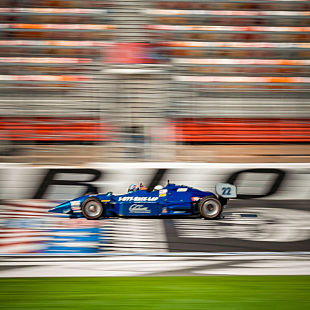 Indy Driving at Monster Mile
