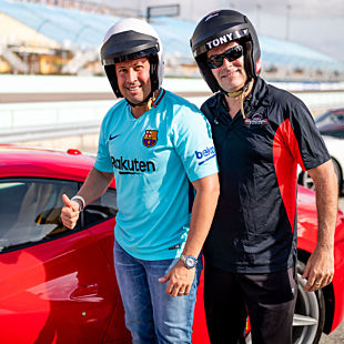 Drive a Ferrari 488 GTB with Professional Instructor