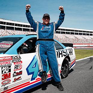 NASCAR Ride along Daytona International Speedway