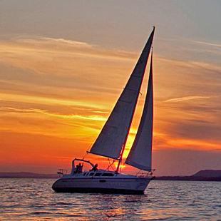 Sunset Sail on Lake Pepin