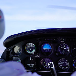 Introductory Flight Lesson in Laramie, Wyoming