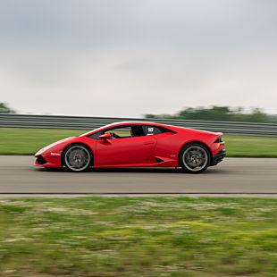 Race a Lamborghini Huracan in North Carolina