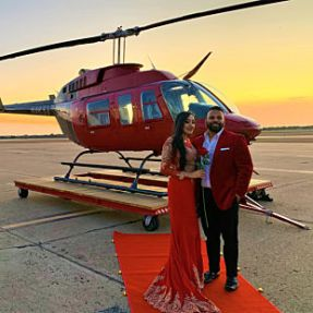 VIP Helicopter Tour for 2 in Dallas