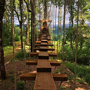 Treetop Adventure Course near Portland