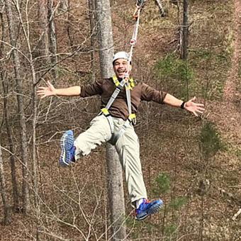 Zipline in Arkansas