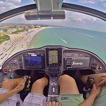 Intro Flight Lesson in Tampa Bay