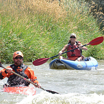 Inflatable Kayak Tour for 2 on Weber River