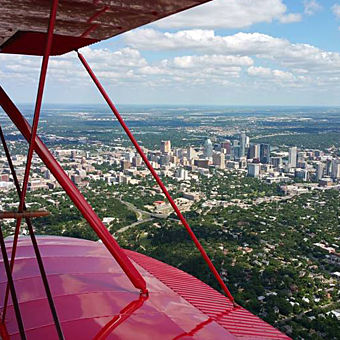 Biplane Scenic Flight in Texas