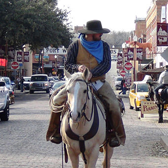 Exploring Fort Worth during Tour