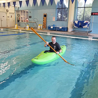 Learn to Roll in a Kayak
