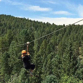 Zipline Tour near Denver