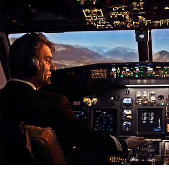 Boeing 737 Flight Simulator in Washington DC