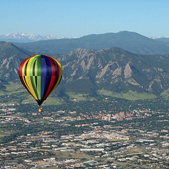 Ride in a Balloon near Denver