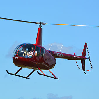 Scenic tour in Robinson R-44 helicopter