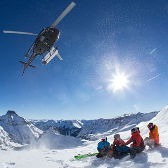 Helicopter Skiing in Telluride
