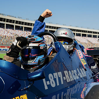 Ride as a Passenger in an Indy Car in Charlotte