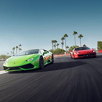 Drive a Lamborghini and Ferrari during this Racing Experience