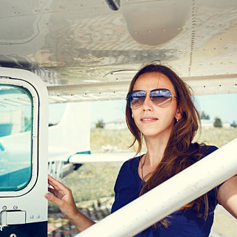 Learn to Fly a Cessna 172 or Piper Warrior