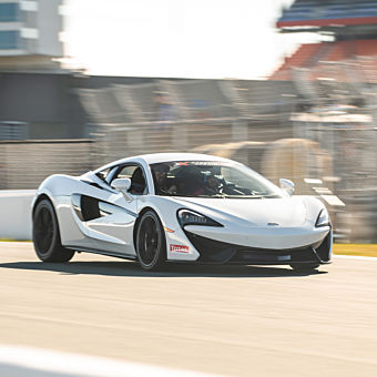 Drive a McLaren near Charlotte