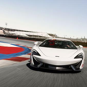 Race a McLaren 570S near Richmond