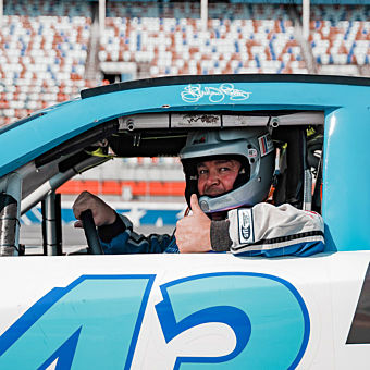 NASCAR racing experience at Auto Club Speedway