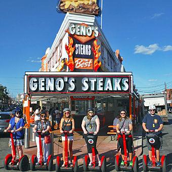 Philly Cheesesteak Tour on Segways