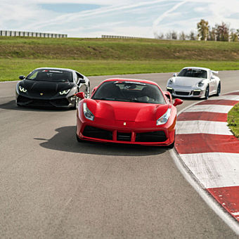 Ultimate Exotic Racing Experience near Miami